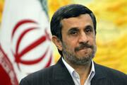عکس | احمدینژاد روی عرشه!