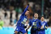 مجیدی روی نوار پیروزی