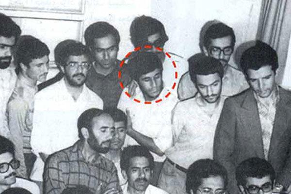 تصویری از احمدینژاد در ۱۲ بهمن ۵۷