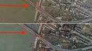 عکس | تصویر ماهوارهای از خیابانی در ووهان ؛ قبل و بعد از قرنطینه