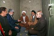 تصاویر | همنشینی مطهری، لاریجانی و وزیر اطلاعات با شهید مطهری در زندان | دیدار متفاوت پسر و پدر