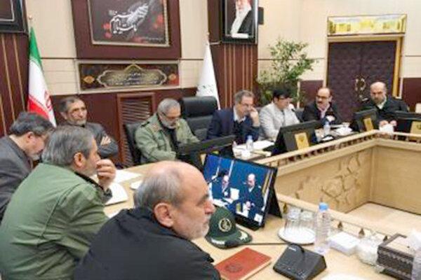 جلسه پدافند غیرعامل تهران