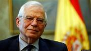 فیلم | دیدار مسئول سیاست خارجی اتحادیه اروپا با ظریف