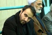 تصاویر | حضور فرزند شهید حاج قاسم سلیمانی در حسینیه جماران