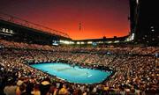 عکس | آسمان استرالیا در دیدار دو غول بزرگ دنیای تنیس