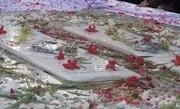 گلباران مزار شهدای گمنام در امامزادههای تهران
