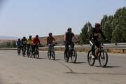 منطقه 22 در محاصره دوچرخه سواران
