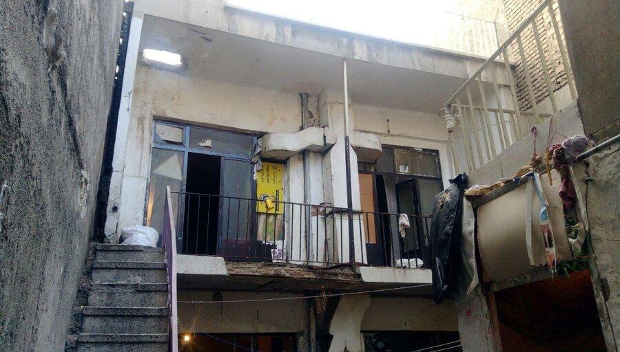 خانه های کلنگی  در تملک اتباع