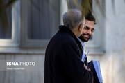 تصاویر جالب آذری جهرمی و صالحی ؛ دست در دست و دست در گردن