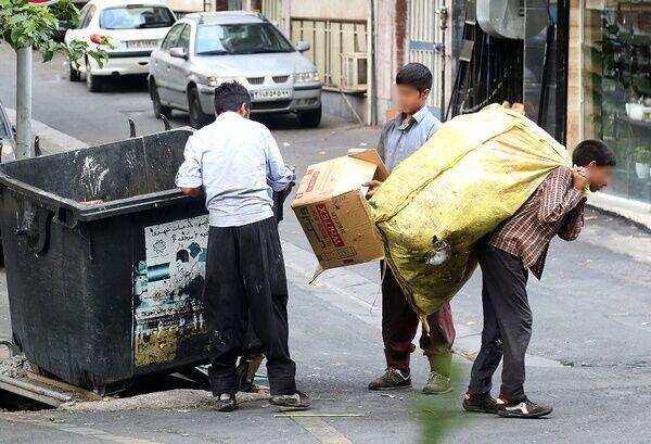 زباله گردي كودكان