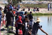 تصویر | مسابقه ماهیگیری خانوادگی در جیرفت
