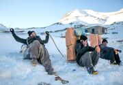 تصاویری از پوشش کولبران در ارتفاعات برفی