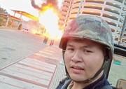 عکس | سلفی عامل کشتار تایلند در هنگام تیراندازی!
