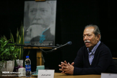تولد85 سالگی علی نصیریان