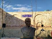 سردیس و یادمان جهان پهلوان تختی در تهران رونمایی شد