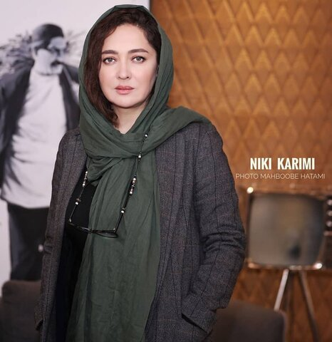 نیکی کریمی در  در پردیس سینمایی ایران مال