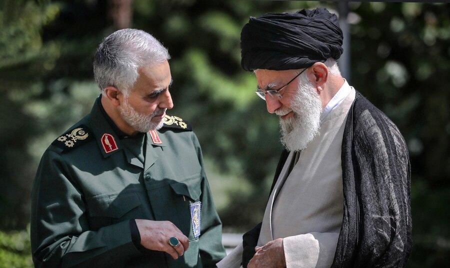 رهبری و شهید سلیمانی