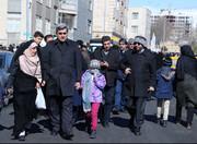 عکس | حناچی در راهپیمایی ۲۲ بهمن