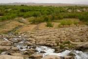 فیلم   چشمانداز زیبایی از یک جاذبه طبیعی در مهریز