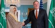 پمپئو در دیدار با وزیر خارجه سعودی از «مقابله با ایران» صحبت کرد