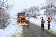 راه ۱۲۰ روستای استان قزوین بازگشایی شد