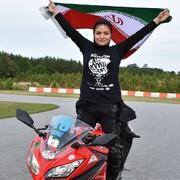 قهرمان موتور سواری سرعت؛ سد مقابل زنان را شکستم