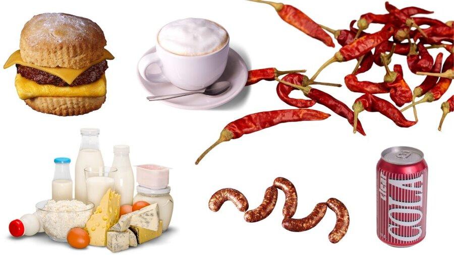 foods heartburn