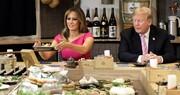 رژیم غذایی خاص ملانیا ترامپ بدون حذف شکلات و فستفود