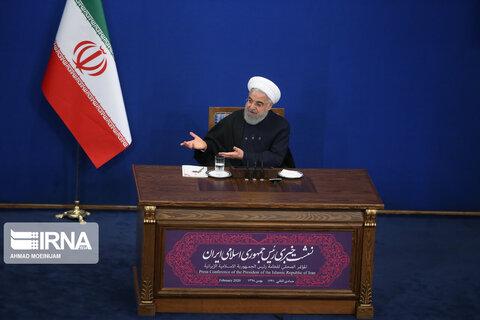 نشست خبری رئیس جمهوری