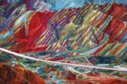 ثبت کوههای رنگی زنجان - ماهنشان در فهرست میراث ملی