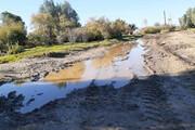 روستای شهیدآباد قلعه گنج راه دسترسی مناسب ندارد