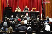 شاعران سوری و فلسطینی در دمشق برای اربعین سردار سلیمانی شعر خوانی کردند