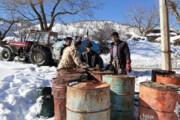 سوخت روستاهای مسدود شده کردستان تامین شد