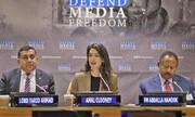 انتقاد همسر جورج کلونی از ترامپ | آموزش سرکوب رسانهها به خودکامههای جهان