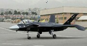 تصویر جنگنده رادارگریز قاهر ۳۱۳ | اولین تجربه ایران در تولید هواپیمای نسل پنجم