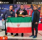 عکس | قویترین مرد ایران را با گلوله زدند