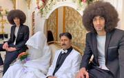 عکس | عروسی رحمت پایتخت ۶ با ساقدوشی رحمان و رحیم