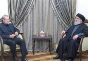 جزئیات دیدار لاریجانی با سیدحسن نصرالله