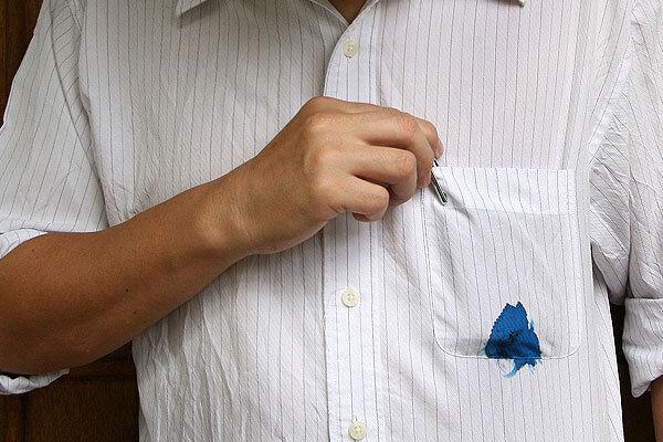 چگونه از لکههای روی لباس خلاص شویم؟