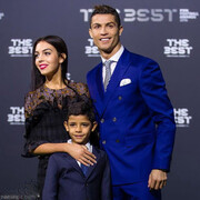 عکس   هدیه یک میلیون یورویی رونالدو برای جورجینا   رونالدو در کنار نامزدش