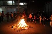 آشنایی با آداب و رسوم چهارشنبه سوری در آذربایجان شرقی