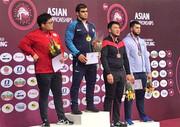کشتی فرنگی بزرگسالان قهرمانی آسیا؛ کسب 4 مدال در روز نخست