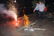 آشنایی با آداب و رسوم چهارشنبه سوری در استان یزد