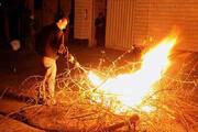 آشنایی با آداب و رسوم چهارشنبه سوری در استان مرکزی
