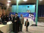 عکس | حسن خمینی رای خود را به صندوق انداخت