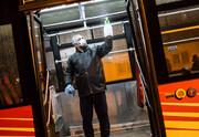 عکس | اتوبوسهای تهران اینگونه علیه کرونا ضدعفونی میشوند