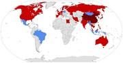 جدول آمار کرونا در کشورها ؛ جایگاه ایران در ابتلا و مرگ و میر