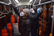 مترو، اتوبوس و فضاهای عمومی تهران با چه مادهای ضدعفونی میشوند؟