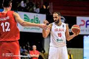 پیروزی تیم ملی بسکتبال ایران مقابل سوریه در انتخابی کاپ آسیا