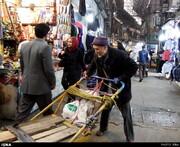 کارگران چرخی غیر ایرانی از بازار حذف می شوند